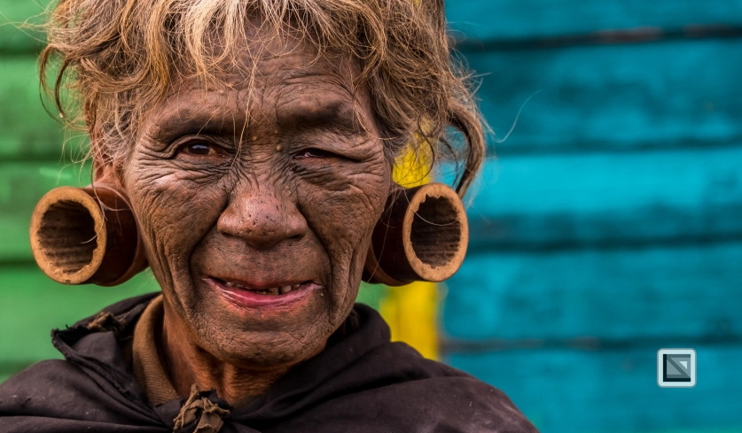 Myanmar Chin Tribe Portraits Color-30