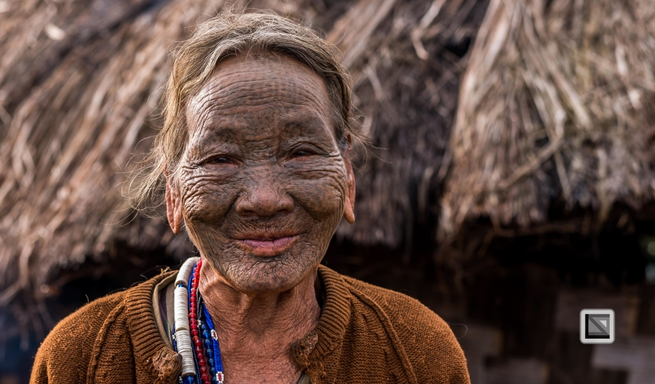 Myanmar Chin Tribe Portraits Color-32