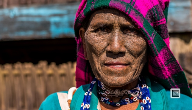 Myanmar Chin Tribe Portraits Color-34