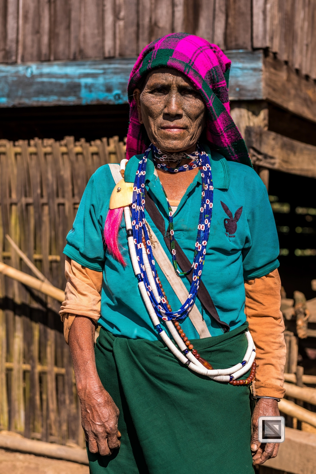 Myanmar Chin Tribe Portraits Color-35