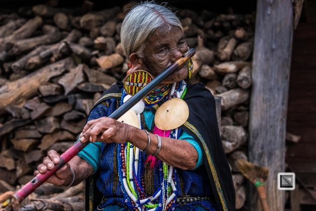 Myanmar Chin Tribe Portraits Color-6