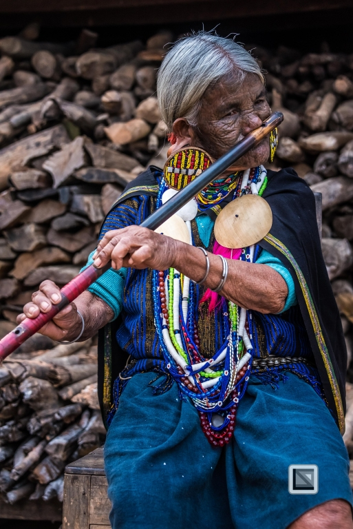 Myanmar Chin Tribe Portraits Color-7