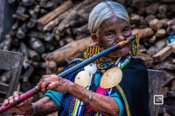 Myanmar Chin Tribe Portraits Color-9
