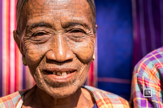 Myanmar Chin Tribe Portraits color Mrauk-U-11