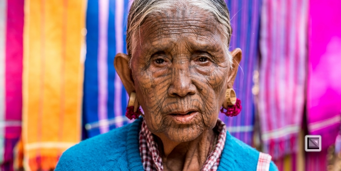 Myanmar Chin Tribe Portraits color Mrauk-U-13