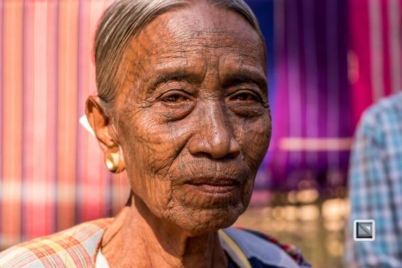 Myanmar Chin Tribe Portraits color Mrauk-U-16