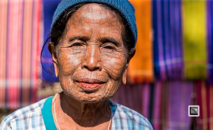 Myanmar Chin Tribe Portraits color Mrauk-U-19