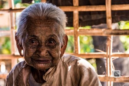 Myanmar Chin Tribe Portraits color Mrauk-U-23