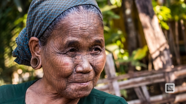 Myanmar Chin Tribe Portraits color Mrauk-U-30