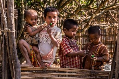 Myanmar Chin Tribe Portraits color Mrauk-U-33