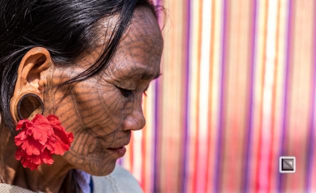 Myanmar Chin Tribe Portraits color Mrauk-U-4