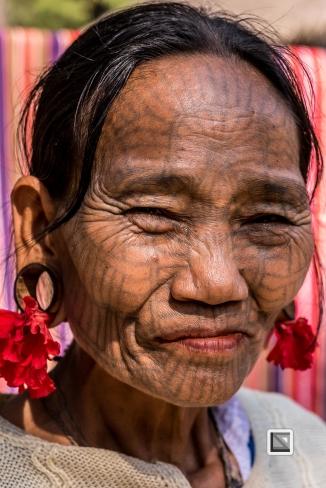 Myanmar Chin Tribe Portraits color Mrauk-U-9