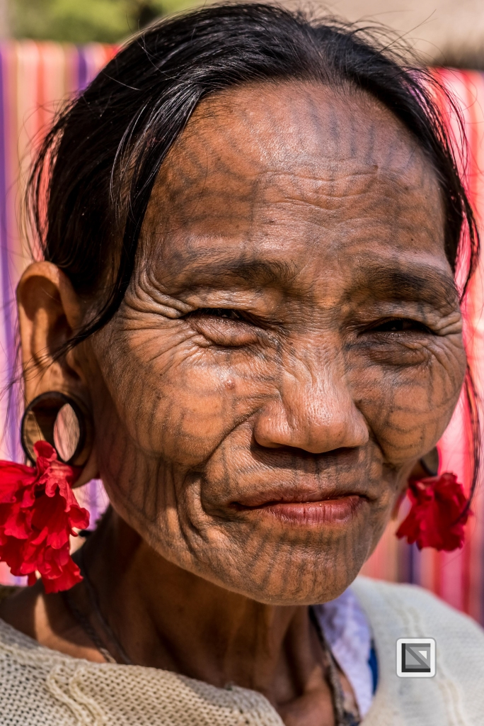 Myanmar Chin Tribe Portraits color Mrauk-U-9
