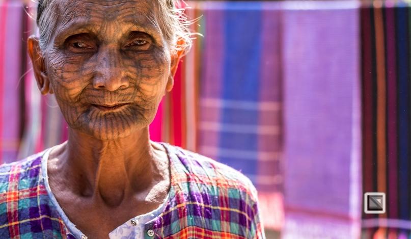 Myanmar Chin Tribe Portraits color Mrauk-U