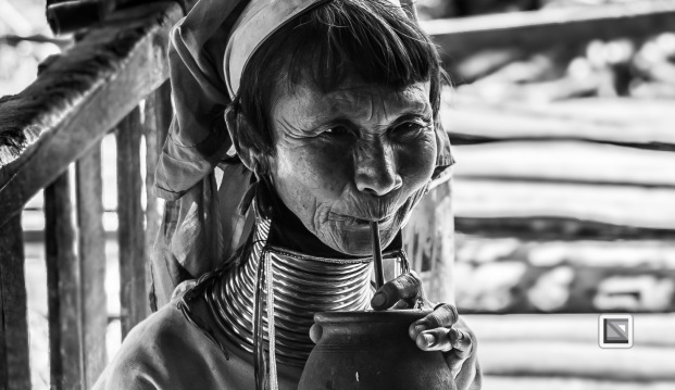 Padaung black n white portraits-15