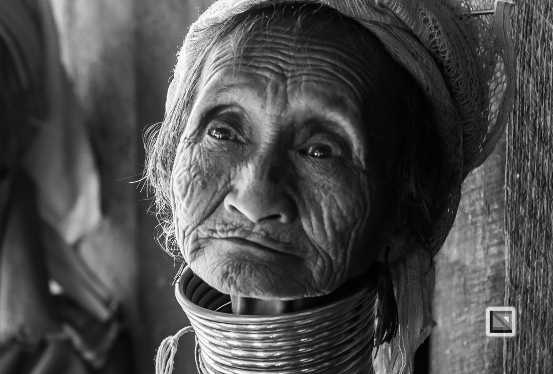 Padaung black n white portraits-20