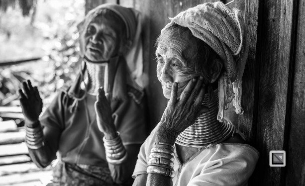 Padaung black n white portraits-21