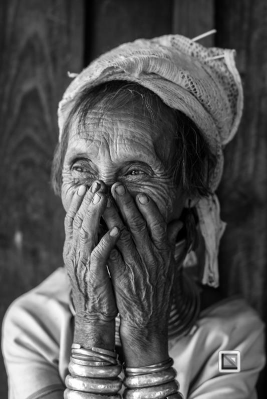 Padaung black n white portraits-26