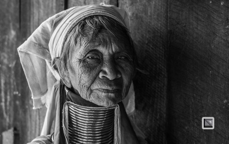 Padaung black n white portraits-29