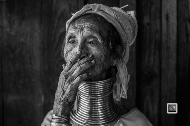Padaung black n white portraits-31