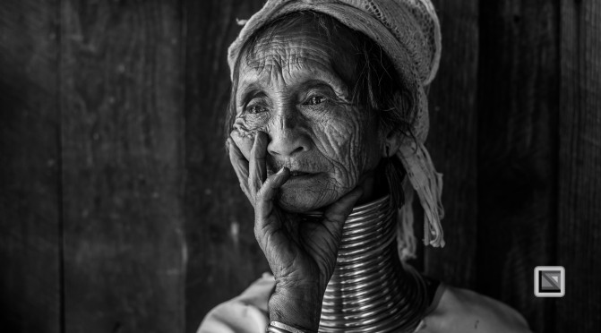 Padaung black n white portraits-32
