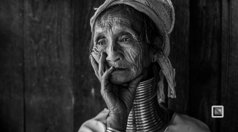 Padaung black n white portraits-32