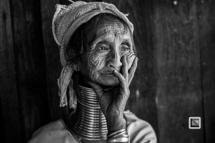 Padaung black n white portraits-36