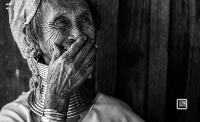 Padaung black n white portraits-38