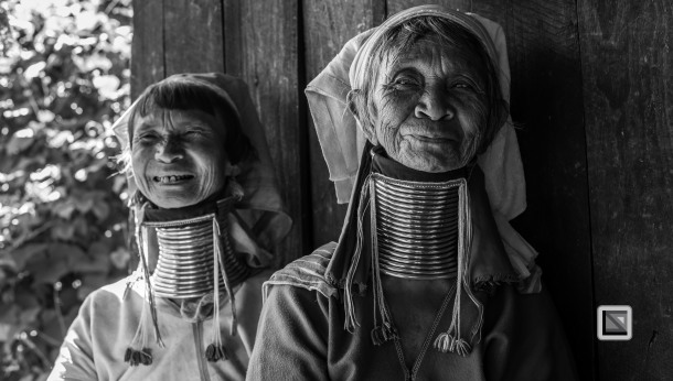 Padaung black n white portraits-47
