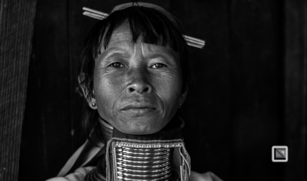 Padaung black n white portraits-49