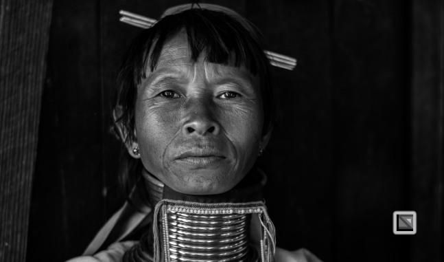 Padaung black n white portraits-49