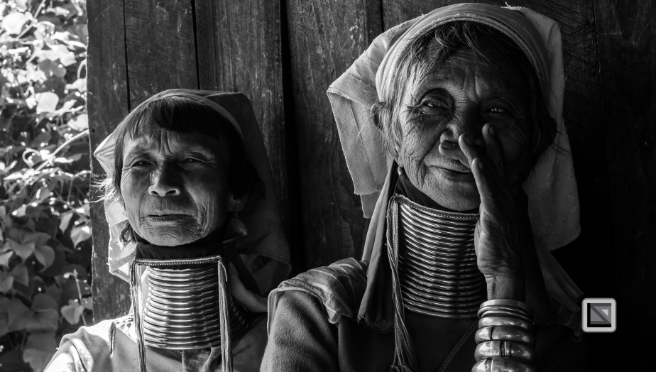 Padaung black n white portraits-51