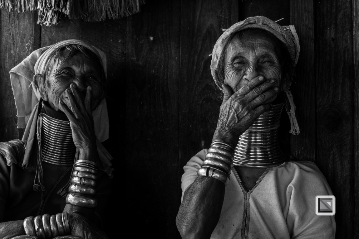 Padaung black n white portraits-52