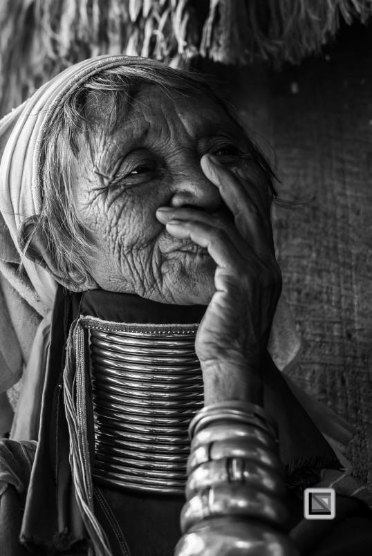 Padaung black n white portraits-55