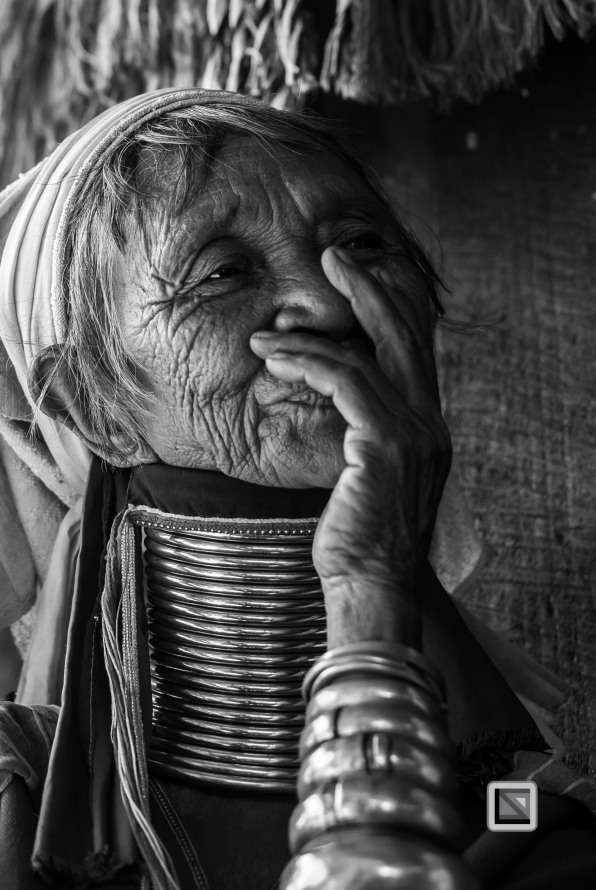 Padaung black n white portraits-55