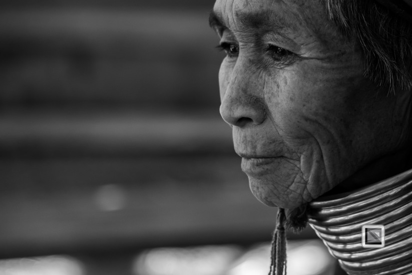 Padaung black n white portraits-57