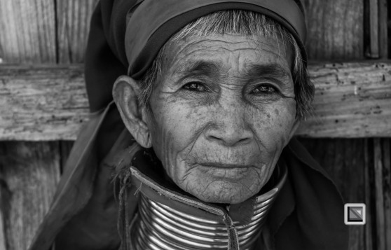 Padaung black n white portraits-59