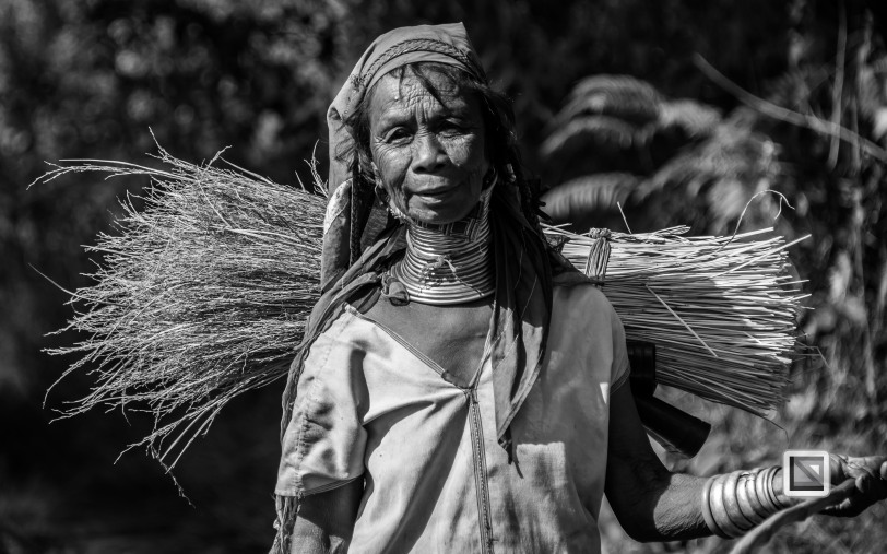 Padaung black n white portraits-60