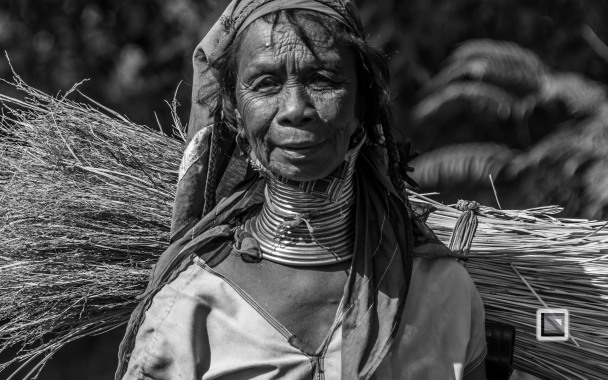 Padaung black n white portraits-61