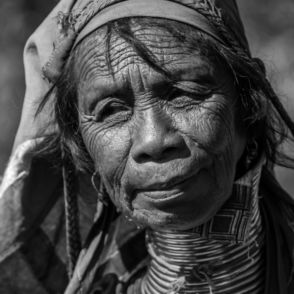 Padaung black n white portraits-66