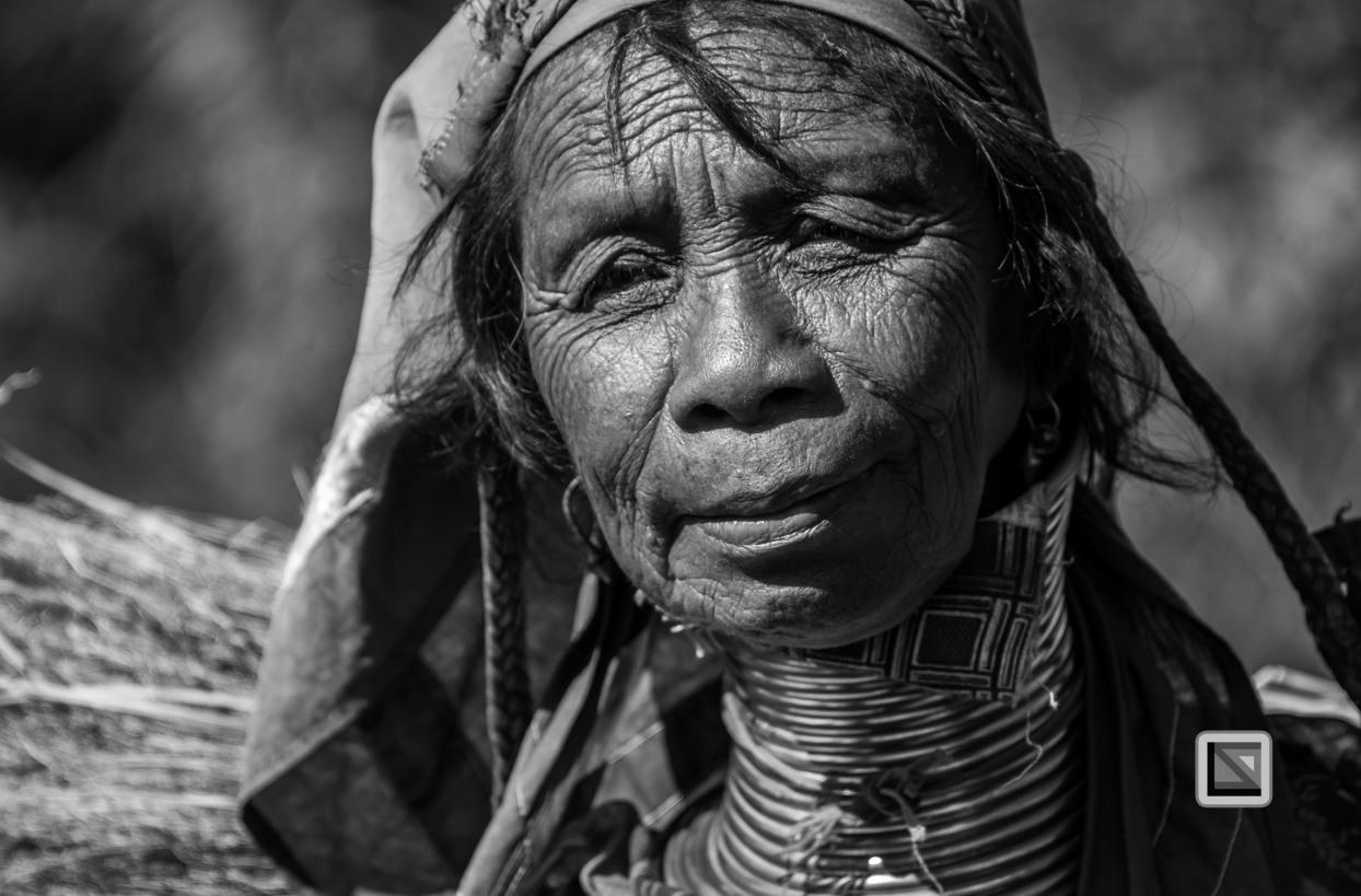 Padaung black n white portraits-68