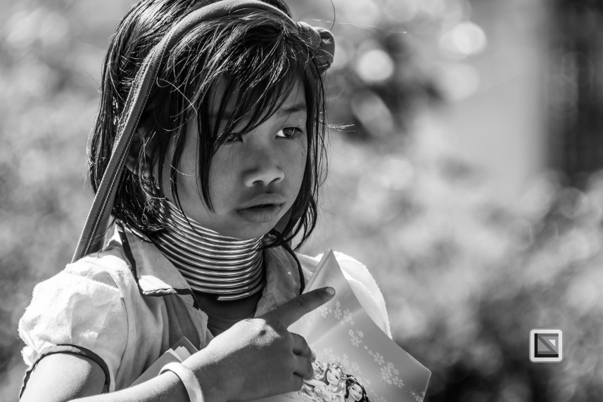 Padaung black n white portraits-7