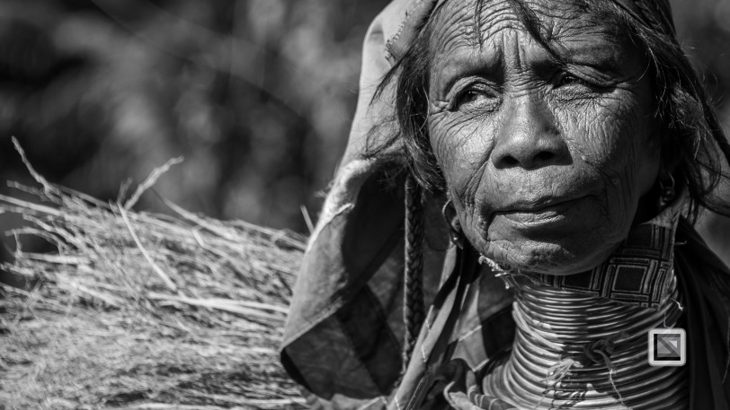 Padaung black n white portraits-76