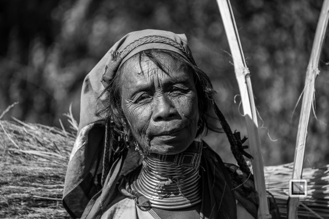 Padaung black n white portraits-77