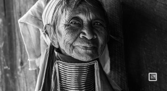 Padaung black n white portraits-79
