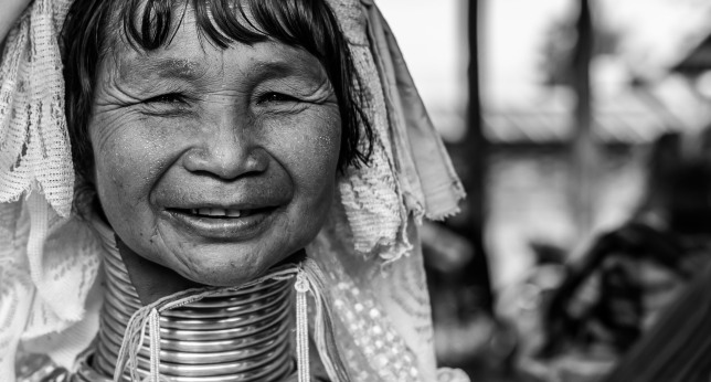 Padaung black n white portraits-82