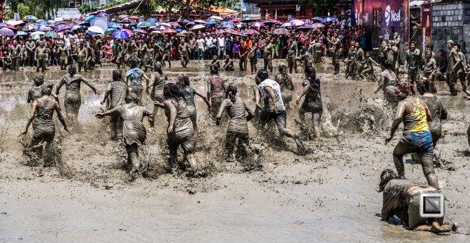 Pokhara paddy planting festival-37