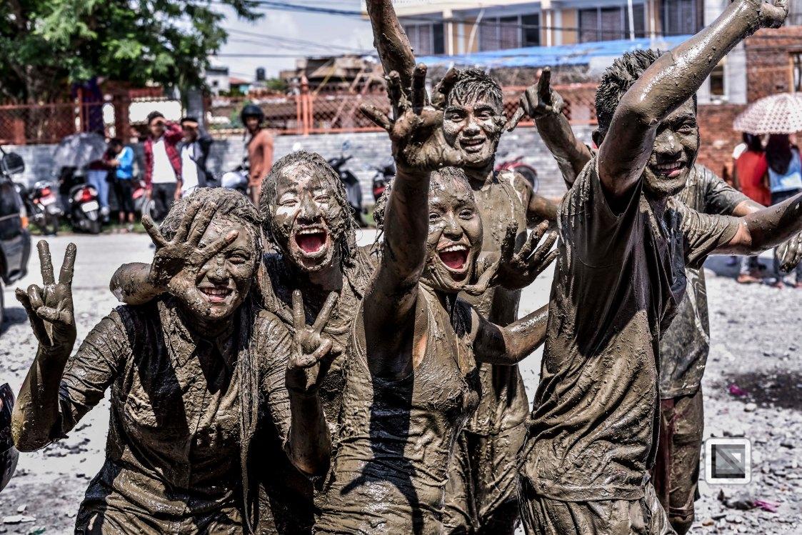 Pokhara paddy planting festival-59