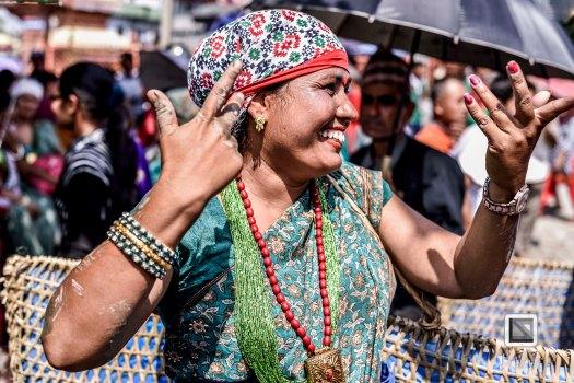 Pokhara paddy planting festival-80