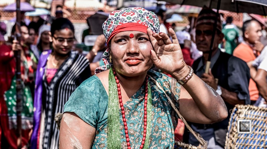 Pokhara paddy planting festival-81